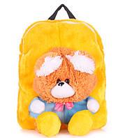 Рюкзак с медвежонком желтый Рoolparty