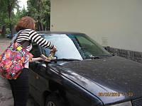 Разноска листовок под дворники авто ,громкоговоритель(рупор Кривой Рог)