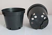 Горшок для рассады 0,36л,(9x6,5см),черный,  500шт\уп (пр. Польша (Kloda)