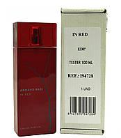 Тестер. Женская парфюмерная вода  Armand Basi In Red Eau de Parfum (Арман Баси ин Ред Эу де Парфюм)100 мл