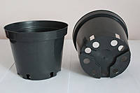 Горшок для рассады 0,32л,(8x6,5см),черный, 500 шт/уп (пр. Польша (Kloda)