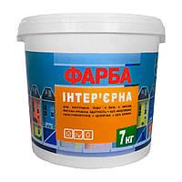 Интерьерная краска (водоэмульсионная) ЭКО 7,0 кг / белая