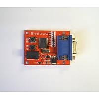 Генератор видеосигнала VGA для TFT LCD мониторов