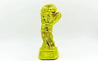 СтатуэтканаграднаяспортивнаяБоксБоксерскаяперчатка золотая(рр22х9х8см)