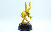 Статуэтка наградная спортивная Самбо Самбисты (р-р 17,5х9х9 см)