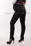 Трикотажные брюки-лосины на флисе