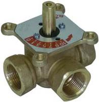 """Трехходовой смесительный клапан 1"""" Meibes ELOMIX EM3-25-12(Германия)"""