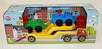 Игрушка АВТОВОЗ с набором машинок, Технок, арт. 3909