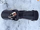 Женские кожаные угги из овчины Hermes, фото 5