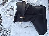 Женские кожаные угги из овчины Hermes, фото 6