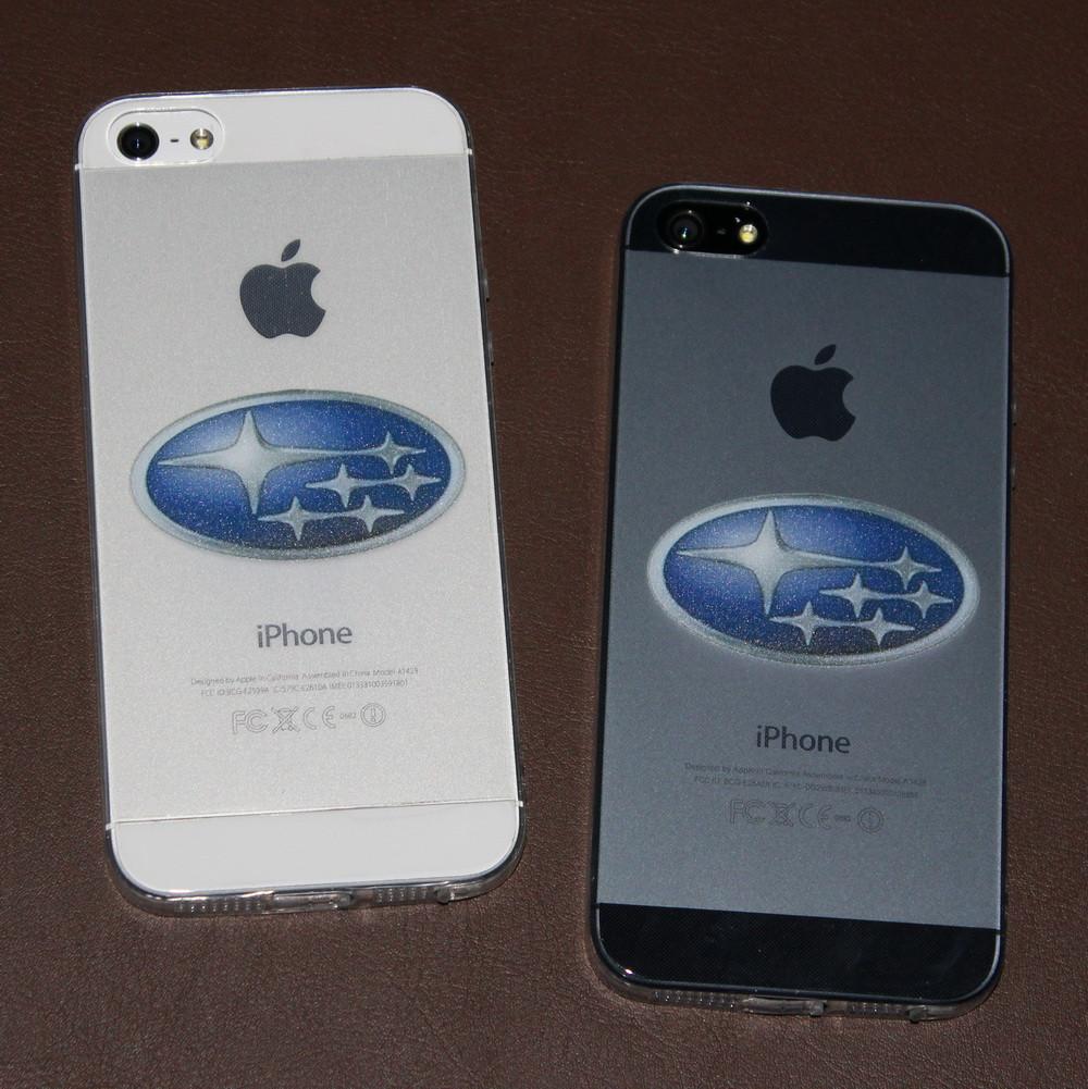 Чехлы для iPhone 5 5S SE Subaru силиконовые