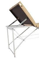 Массажный стол-кушетка трехсекционный складной Trio Lux