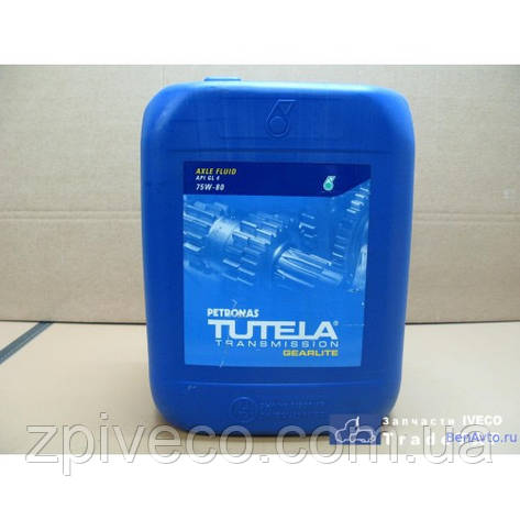 Масло трансмиссионное TUTELA TRUCK GEARLITE 75W-80 (20L), фото 2