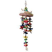 """Игрушка Montana Cages H77129 """"Игрушка Джаспера"""" для попугаев 13 см/13 см/48,5 см"""