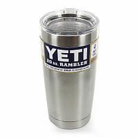 Чашка YETI Rambler Tumbler 20 OZ стальной