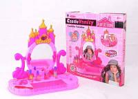"""Трюмо """"Замок принцессы"""" 661-38 (18) свет, звук, на батарейке, в коробке"""