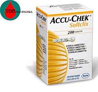 Ланцеты Акку Чек Софткликс (Accu-Chek Softclix) 200 штук