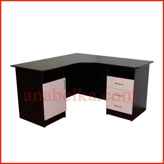 Стол  угловой  с дверцей и ящиками  ОН - 69/1 (Ника)
