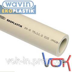 Труба Wavin Ekoplastik PP-R PN20 d75*12.5 (STR075P20X)