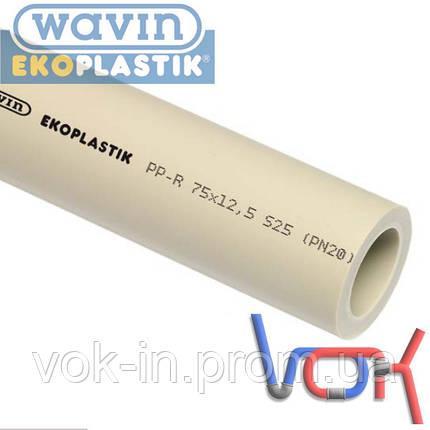 Труба Wavin Ekoplastik PP-R PN20 d75*12.5 (STR075P20X), фото 2