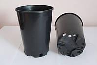 Горшок для рассады 3л,(16x20.5см),круглый,высокий,черный (50 шт) пр. Польша (Kloda)