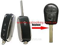 Ключ Bmw 3, 5, 7, x3, x5 выкидной с платой для EWS  Вид Bentley