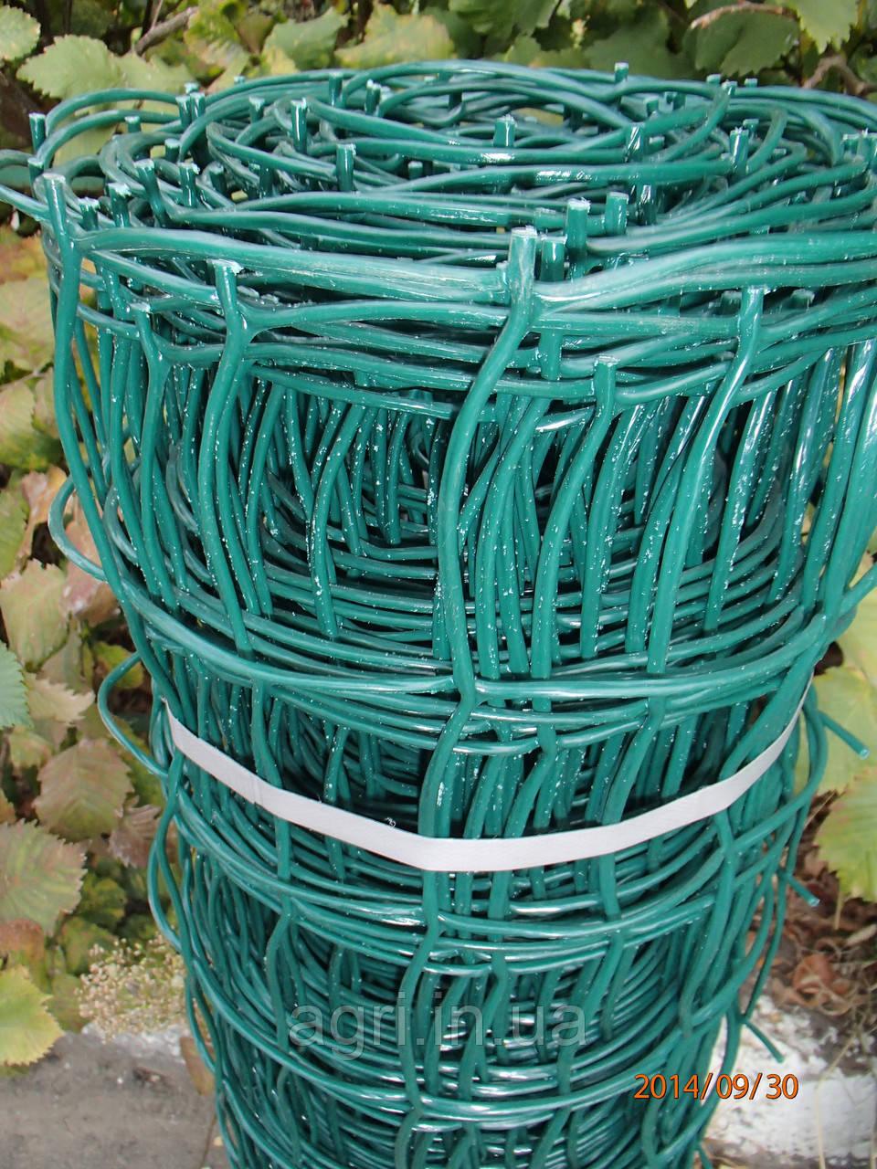 Сетка пластиковая (забор) 1*20м (ячейка 85*95мм)