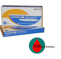 Тест-полоски Glucocard Test Strip ll (Глюкокард 2)