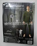 Термобелье мужское - Spaio Survival Line (100% cotone) Польша (Серый, Хаки, Графит), фото 4