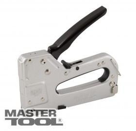MASTERTOOL Степлер пружинный 3-В-1 скоба 4-14, 11,3*0,7мм, гвоздь 14 мм, скоба 4-14, 10,6*1,2 мм, корпус метал