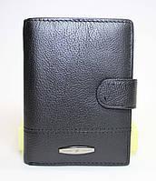 Классическое мужское вертикальное портмоне TAILIAN черного цвета
