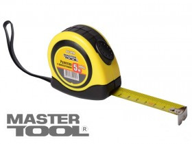 MASTERTOOL Рулетка измерительная с фиксатором 8м*25мм, Арт.: 65-8025