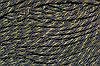 Канат декоративный 6мм (т) (100м) т.серый+золото