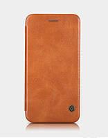 Nillkin Qin for Samsung Galaxy S7 Edge Brown