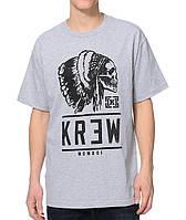Футболка с принтом KR3W Indian Skull  мужская