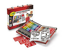 Crayola Набор для творчества в чемодане 62 предмета Virtual Design Pro-Cars