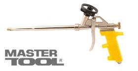 MASTERTOOL Пистолет для монтажной пены 330 мм, тефлоновое покрытие баллоноприемника