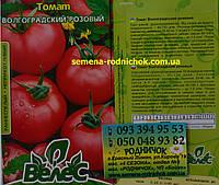 Детерминантный ранний томат с розовыми плоско округлыми плодами и дружным созреванием Волгоградский розовый