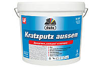 Акриловая штукатурка «барашек» Kratzputz aussen D227 25кг - Dufa