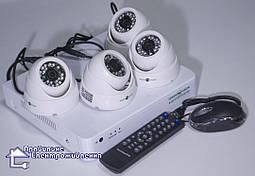 Комплект системи відеонагляду Green Vision GV-K-G01/04 720Р