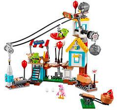 Конструктор Angry Birds 19004, 386 деталей, аналог Lego