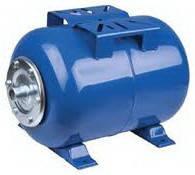 Гидроаккумулятор Euroaqua объём 80 литров горизонтальный