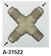 Переходник с ниппелем REFCO A-31522, фото 1
