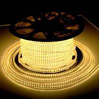 Светодиодная лента JL 5730-52 220В IP68, герметичная, теплая