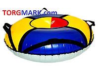 Тюбинг (надувные санки) армированный ПВХ морозоустойчивый с автомобильной камерой (ширина 120 см)