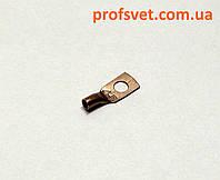 Кабельный наконечник медный 4 мм М5 тип СК