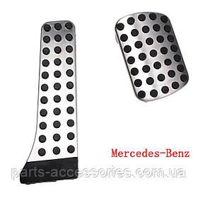 Mercedes S S-Class 222 W222 2013+ накладки на педали AMG Новые