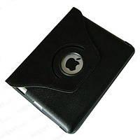 Кожаный чехол-книжка TTX (360 градусов) для Apple Ipad 2/3/4            Черный