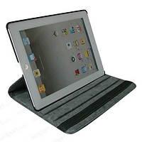 Кожаный чехол-книжка TTX (360 градусов) для Apple Ipad 2/3/4            Ярко-розовый