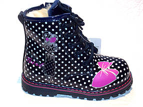 Ботинки для девочки (зима)